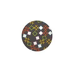 Geometric Contemporary Mini Button