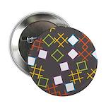 """Geometric Contemporary 2.25"""" Button"""