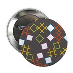 "Geometric Contemporary 2.25"" Button (100 pack)"