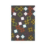 Geometric Contemporary Rectangle Magnet (100 pack)