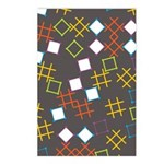 Geometric Contemporary Postcards (Package of 8)