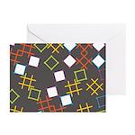 Geometric Contemporary Greeting Cards (Pk of 10)