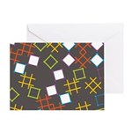 Geometric Contemporary Greeting Card