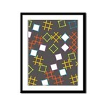 Geometric Contemporary Framed Panel Print