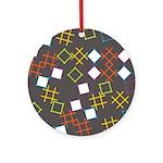 Geometric Contemporary Ornament (Round)