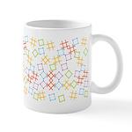Geometric Contemporary Ceramic Coffee Mug