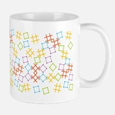 Geometric Contemporary Ceramic Coffee Mug