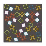 Geometric Contemporary Tile Drink Coaster