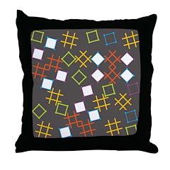Geometric Contemporary Throw Pillow