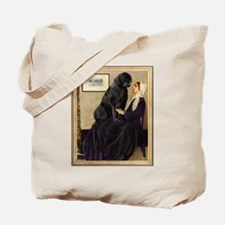 Whistler's Mother & Newfie Tote Bag