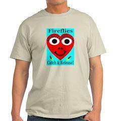 Fireflies Catch & Release Ash Grey T-Shirt