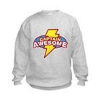 Captain Awesome Kids Sweatshirt