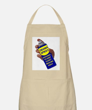 OBAMA SPRAY BBQ Apron