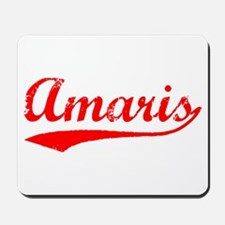 Vintage Amaris (Red) Mousepad