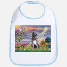 Cloud Angel & Irish Wolfhound Bib