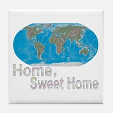 [Earth] Home, Sweet Home - Tile Coaster