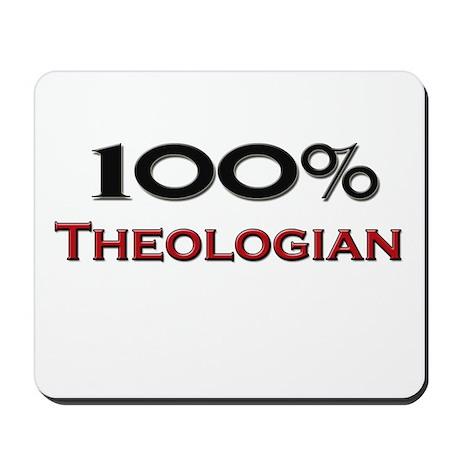 100 Percent Theologian Mousepad