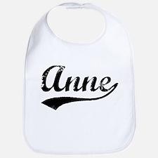 Vintage Anne (Black) Bib