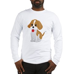Cute and Cuddly Puppy Long Sleeve T-Shirt