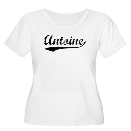 Vintage Antoine (Black) Women's Plus Size Scoop Ne