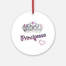 Principessa Ornament (Round)