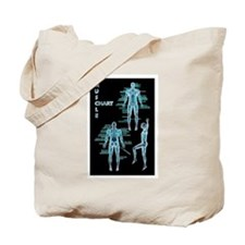 Muscle Chart Tote Bag