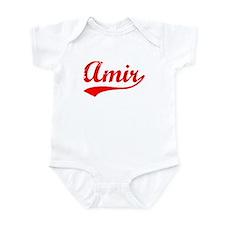 Vintage Amir (Red) Infant Bodysuit