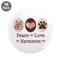 Peace Love Havanese 3.5