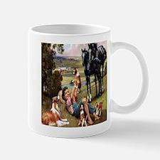 Horses & Puppies Mug