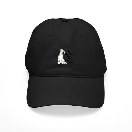 NMQN Deaf BFF Black Cap