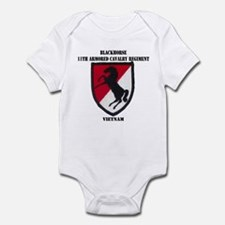 11TH ARMORED CAVALRY REGIMENT Infant Bodysuit