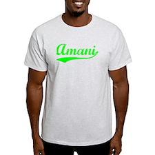 Vintage Amani (Green) T-Shirt
