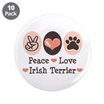 Peace Love Irish Terrier 3.5