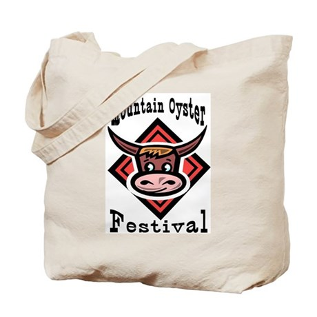 Mountain Oyster Festival Tote Bag