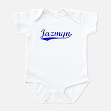 Vintage Jazmyn (Blue) Infant Bodysuit