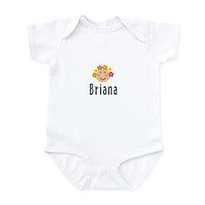 Briana - Flower Girl Infant Bodysuit