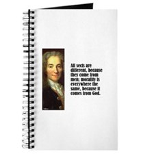 "Voltaire ""All Sects"" Journal"