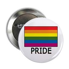 """Gay Flag Colors Don't Run 2.25"""" Button (10 pack)"""
