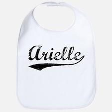 Vintage Arielle (Black) Bib