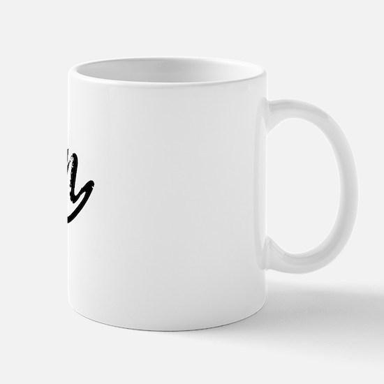 Vintage Arjun (Black) Mug