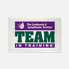 Team in Training Rectangle Magnet