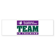 Team in Training Bumper Bumper Sticker