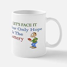 Lottery Humor Mug