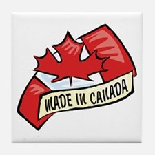 Made In Canada Tile Coaster