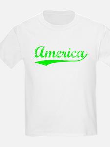 Vintage America (Green) T-Shirt