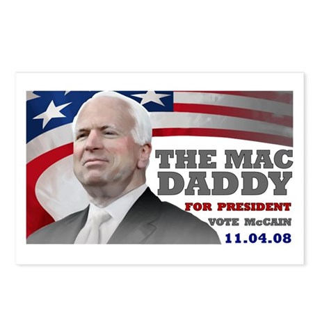 Mac Daddy for President Postcards (Package of 8)