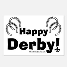 Happy Derby Postcards (Package of 8)