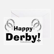 Happy Derby Greeting Card