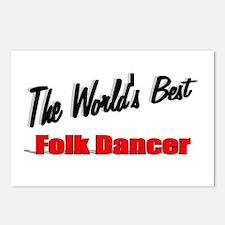 """The World's Best Folk Dancer"" Postcards (Package"