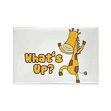 What's Up Giraffe Rectangle Magnet (10 pack)